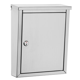Architectural Mailboxes Regent Stainless Steel Mailbox with Plain Satin Finish