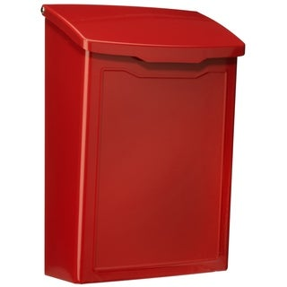 Architectural Mailboxes Marina Wall Mount Mailbox Red