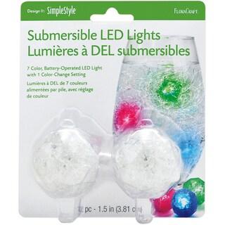 "Submersible LED Lights 1.5"" 2/Pkg"