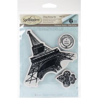 Spellbinder Ooh La La Cling Stamp Set By Stacey Caron