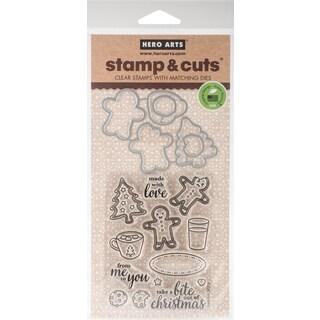 Hero Arts Stamp & Cut Santa Snacks
