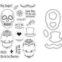 Hero Arts Clear Stamp & Die Combo