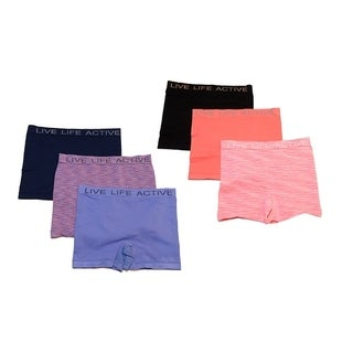 RBX Girls 3 Pack Seamless Playground Short