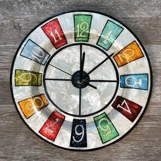 Handmade Multicolor Numeric Clock (Philippines)