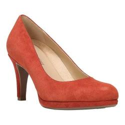 Women's Naturalizer Michelle Pump Kettle Red Suede
