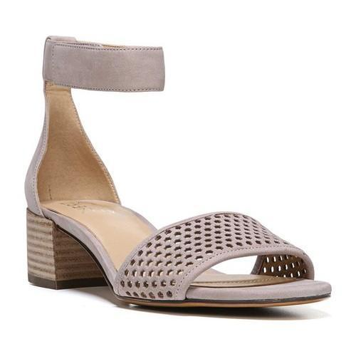Women's Naturalizer Faith Ankle-Strap Sandal Turtledove Nubuck