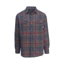 Men's Woolrich Hiker's Trail Flannel Shirt II New Royal Blue