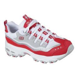 Women's Skechers D'Lites New Retro Sneaker Red/White