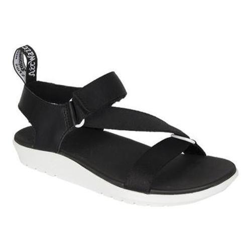 3cfbad3833e Shop Women s Dr. Martens Balfour Z Strap Sandal Black White Webbing T  Lamper - Free Shipping On Orders Over  45 - Overstock - 16560159