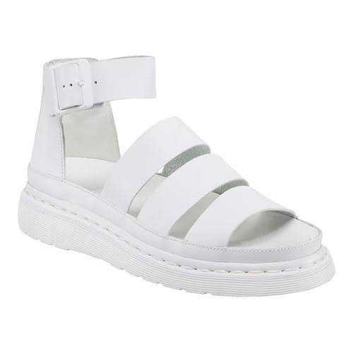Clarissa Softy T White, Womens Fashion Sandals Dr. Clarissa Softy T Blanc, Femmes Sandales Mode Dr. Martens Martens