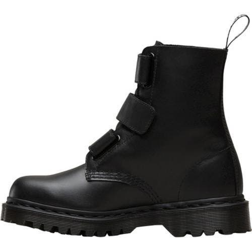 wide selection of colors limited style new lifestyle Women's Dr. Martens Coralia Adjustable Strap Boot Black Venice |  Overstock.com Shopping - The Best Deals on Boots