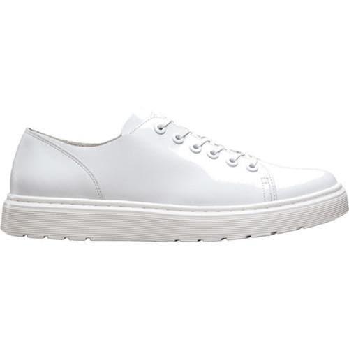 f132094250 Shop Dr. Martens Dante 6 Eye Raw Shoe White Venice - Free Shipping ...