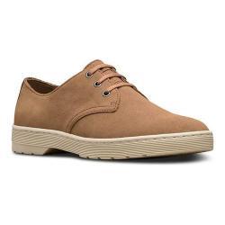 Men's Dr. Martens Coronado 3-Eye Shoe Tan Hi Suede WP