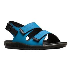 Men's Dr. Martens Crewe Double Strap Sandal Mid Blue Ajax