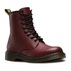 Children's Dr. Martens Delaney 8 Eye Side Zip Boot - Youth Cherry Red Softy T