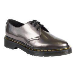 Women's Dr. Martens Dupree 3 Eye Shoe Pewter Spectra Patent