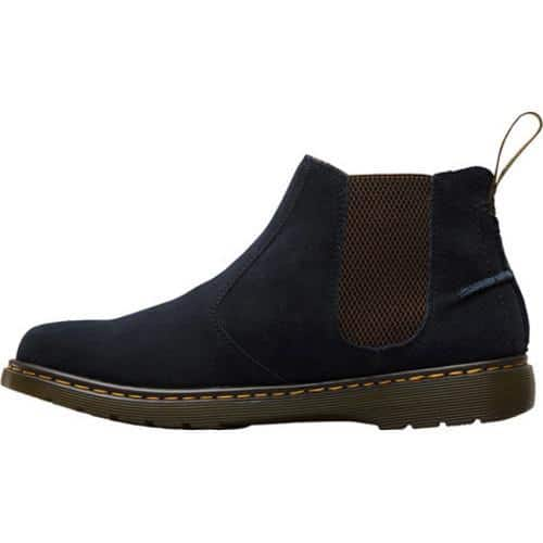official photos 21a07 fac48 Men's Dr. Martens Lyme Chelsea Boot Navy Bronx Suede | Overstock.com  Shopping - The Best Deals on Boots