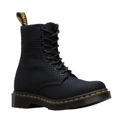 Women's Dr. Martens Page 8 Eye Boot Black Waffle Cotton