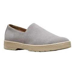 Men's Dr. Martens Plano Slip On Shoe Mid Grey Hi Suede Perfed