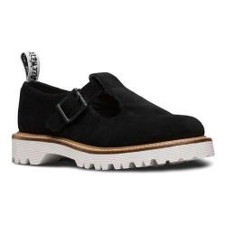 Women's Dr. Martens Polley T-Bar Mary Jane Black Soft Buck|https://ak1.ostkcdn.com/images/products/189/368/P22893363.jpg?impolicy=medium