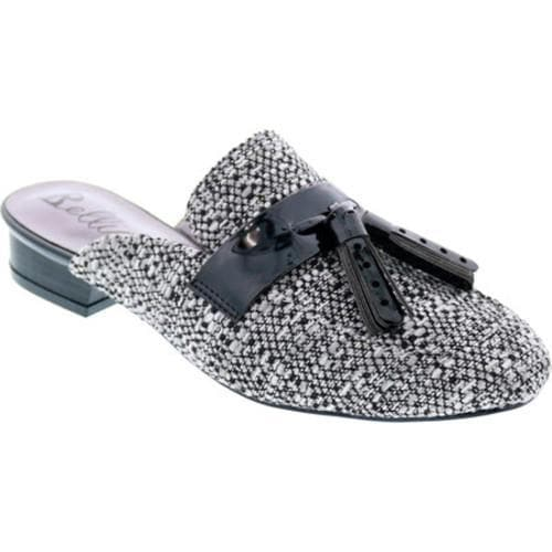 a54b27f363ad Shop Women's Bellini Diary Mule Black/White Boucle - Free Shipping On  Orders Over $45 - Overstock.com - 16569442