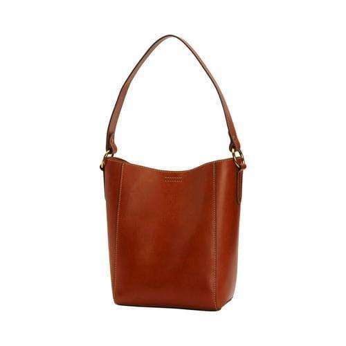 ba37ea2367 Shop Women s Frye Harness Bucket Bag Rust Leather - Free Shipping Today -  Overstock - 16569497