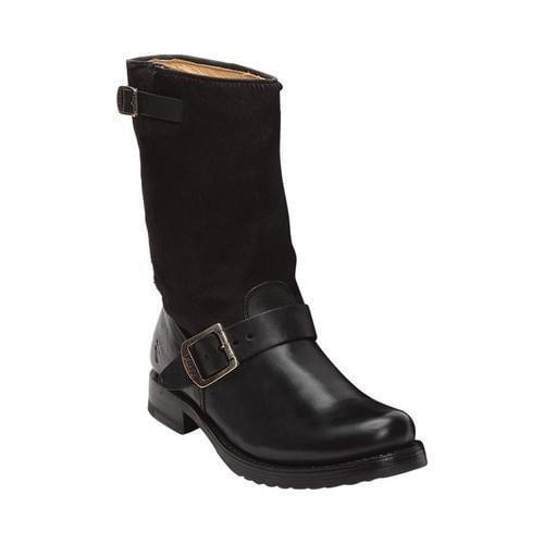 90390fa8009 Women's Frye Veronica Short Boot Black Haircalf