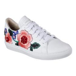 Women's Skechers Vaso Flor Sneaker White