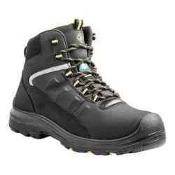 Men's Terra Findlay 6in Waterproof Composite Toe Work Boot Black Waterproof Nubuck