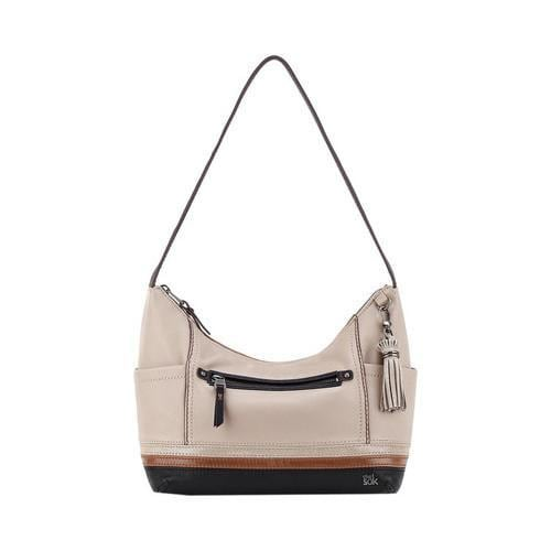 b117f7b17436 Shop Women s THE SAK Kendra Hobo Mushroom Block Leather - Free Shipping  Today - Overstock - 16569708