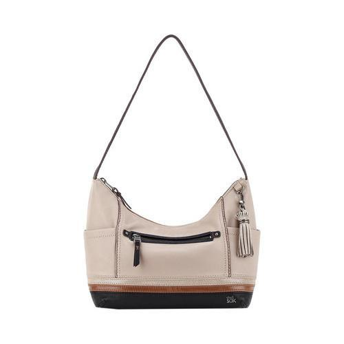 dda37d9cc4 Shop Women s THE SAK Kendra Hobo Mushroom Block Leather - Free Shipping  Today - Overstock - 16569708