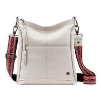 Women's THE SAK Lucia Crossbody Bag Stone Leather