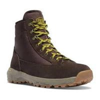 Men's Danner Explorer 650 6in Hiking Boot Brown/Lime Green Suede/Nylon