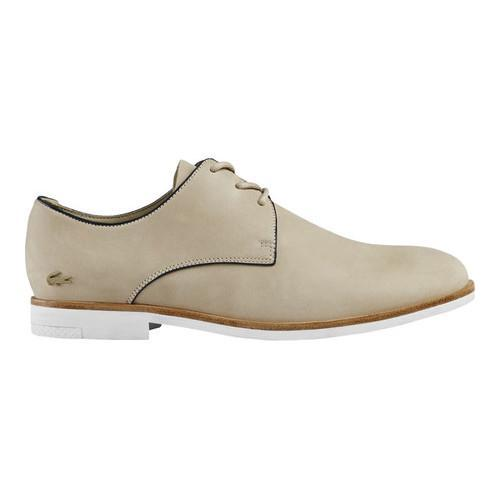 d05219a5ee5ba Shop Women's Lacoste Cambrai Leather Derby Shoe Natural Leather - Free  Shipping Today - Overstock - 16617555