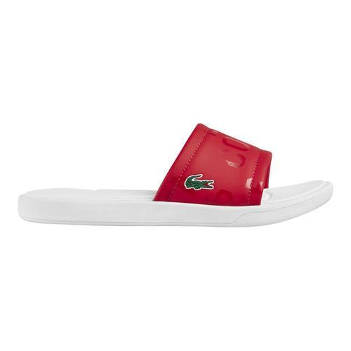 b60578276beec Shop Women s Lacoste L.30 SLIDE Red Synthetic - Free Shipping On Orders  Over  45 - Overstock - 16617579