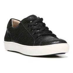 Women's Naturalizer Morrison Sneaker Black Iridescent Pebbled Leather