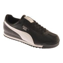 Men's PUMA Roma Basic Black/White/Puma Silver