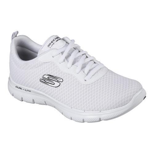 2b4100d62c7c Women  x27 s Skechers Flex Appeal 2.0 Newsmaker Training Sneaker White