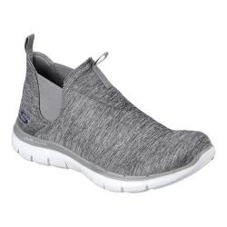 Women's Skechers Flex Appeal 2.0 High Card High Top Gray