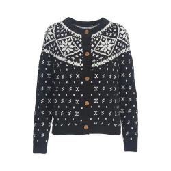 Women's Woolrich Snowfall Valley Cardigan Black