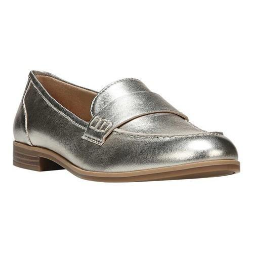 5a738a1a391 Shop Women s Naturalizer Veronica Loafer Platina Leather - Free Shipping  Today - Overstock - 16637734
