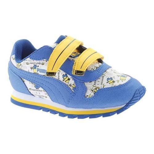 ddd18b4ce94fed Children  x27 s PUMA Minions ST Runner V Sneaker Puma White Lapis Blue