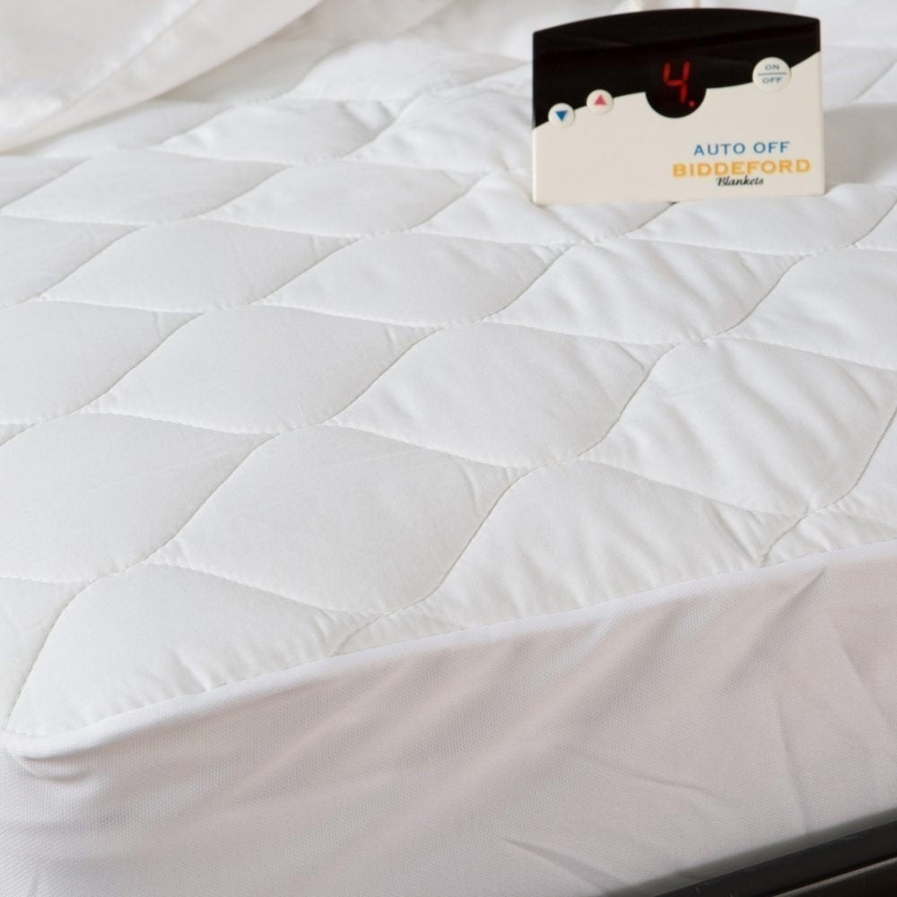 Biddeford 5202-505222-100 Quilted Electric Heated Mattres...