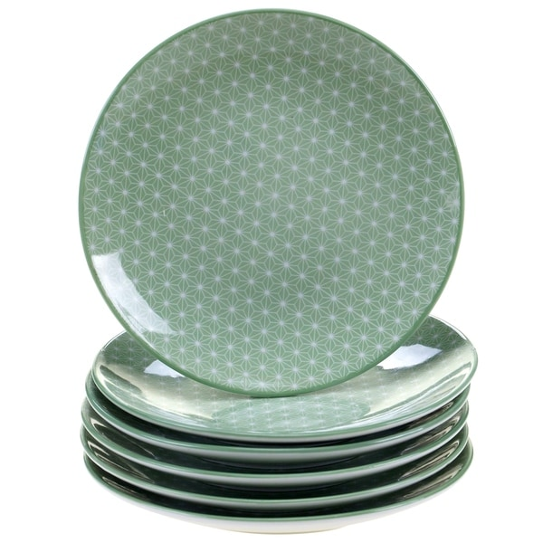 Chelsea Mix and Match Indigo Quatrefoil Canape Plates (Set of 6)  sc 1 st  Overstock & Chelsea Mix and Match Indigo Quatrefoil Canape Plates (Set of 6 ...