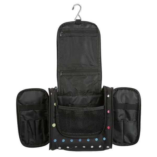 50fe43591ef8 Hanging Makeup Cosmetic Bag, Large Portable Travel Toiletry Organizer Bag