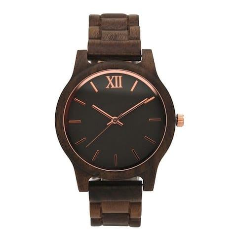 Olivia Pratt Wooden Watch