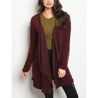 JED Women's Slouchy Acrylic Blend Cardigan (2 options available)