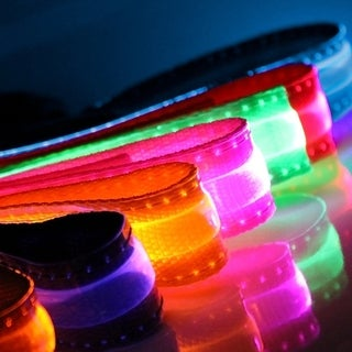 Paws & Pals Light Up LED Night Time Safety Dog Collar (More options available)
