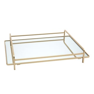 4-rail Large Vanity Mirror Tray