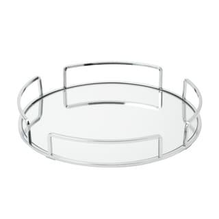 Modern Round Vanity Mirror Tray
